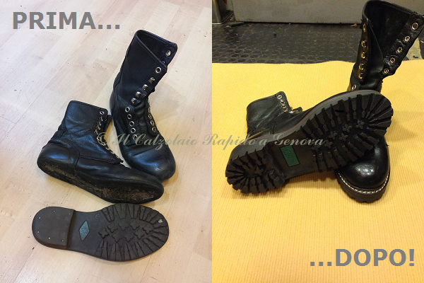 vulcanizzazione scarpe