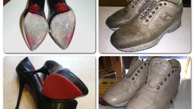 scarpe rovinate