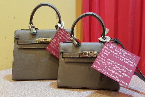 Creazione borse artigianali e rimessa a modello del vintage