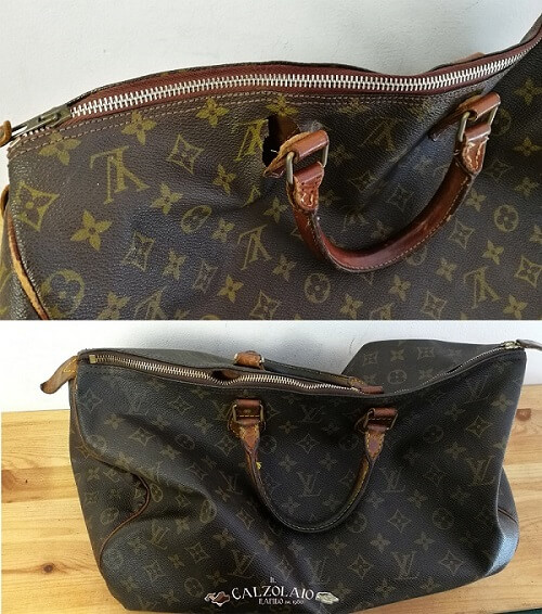 Rimessa modello totale borsa Louis Vuitton prima